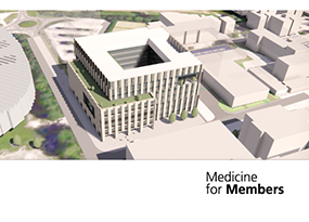 Evis Sala, MFICM Co-Leader, to talk at a Medicine for Members Event
